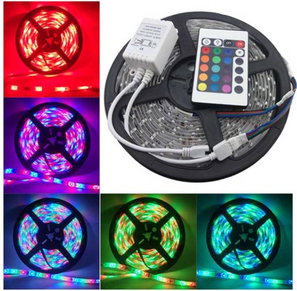 MTC 196.85 inch Multicolor Rice Lights