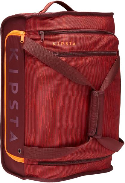 KIPSTA by Decathlon 30L Wheeled Suitcase Essential - Burgundy