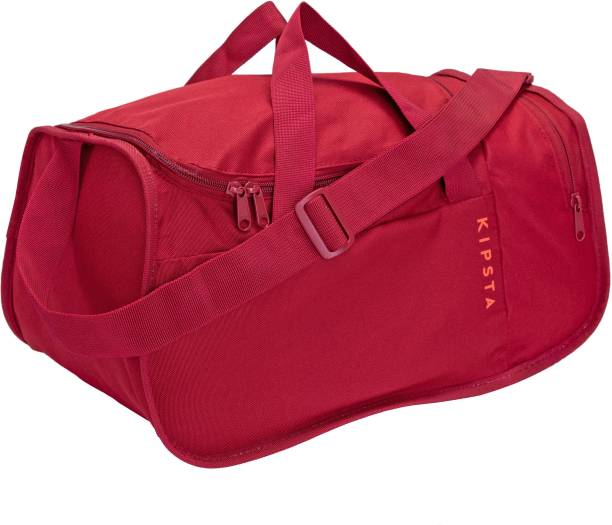 KIPSTA by Decathlon Sports Duffle Bag Kipocket 20L - Burgundy