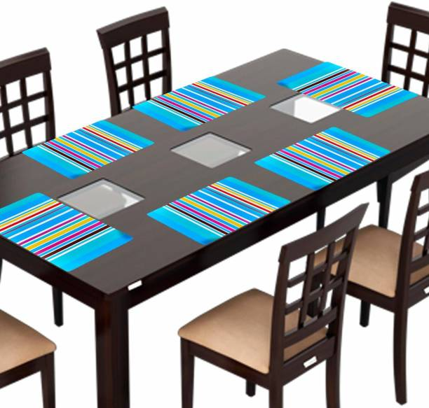 Creadcraft Rectangular Pack of 6 Table Placemat