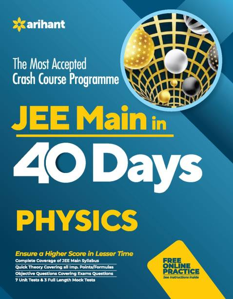 40 Days Crash Course for Jee Main Physics