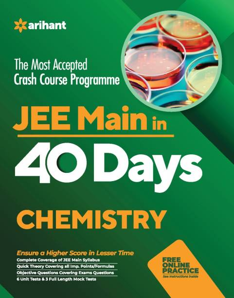 40 Days Crash Course for Jee Main Chemistry