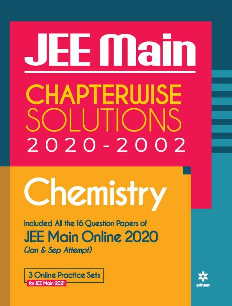 18 Years Chapterwise Solutions Chemistry Jee Main 2021