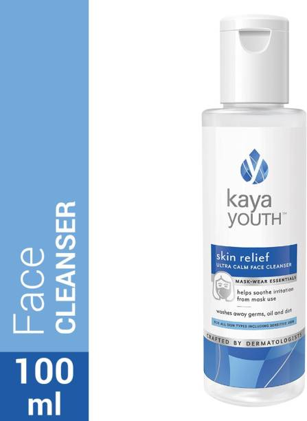 Kaya Youth Skin Relief Ultra Calm Face Cleanser-Soothes Irritation from Face Masks