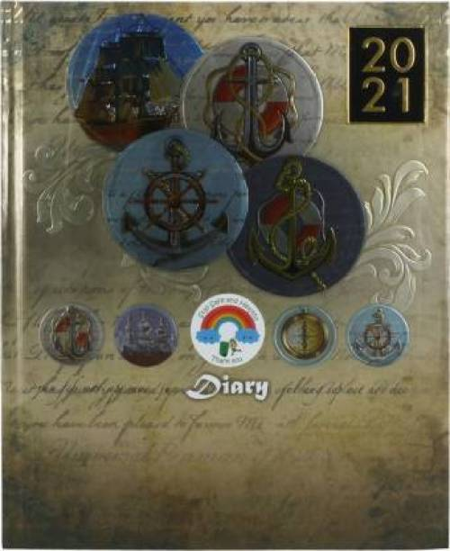 Toss TOD-49 2021 A4 Diary Ruled 330 Pages