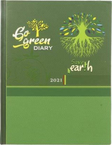 Toss S-71 2021 B5 Diary Ruled 330 Pages