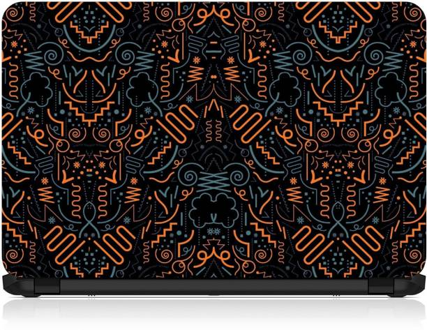 FineArts Spiral Abstract Printed Vinyl Laptop Decal 15.6