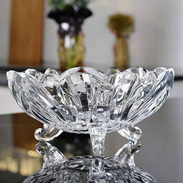 KrIyal enterprise Glass Storage-Fruits Bowl Glass Disposable Storage Bowl