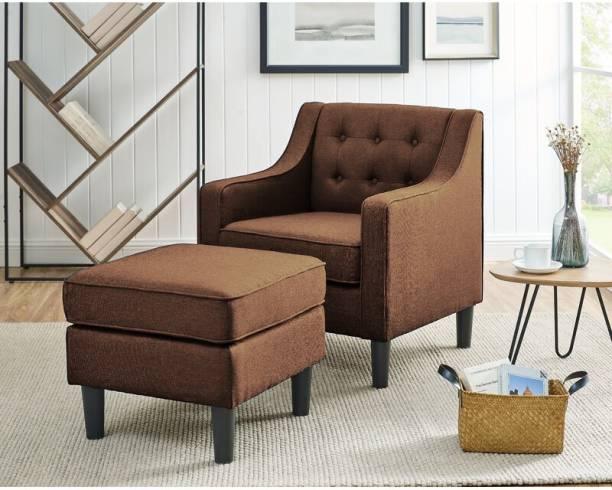 Febonic PENIEL Solid Wood Living Room Chair