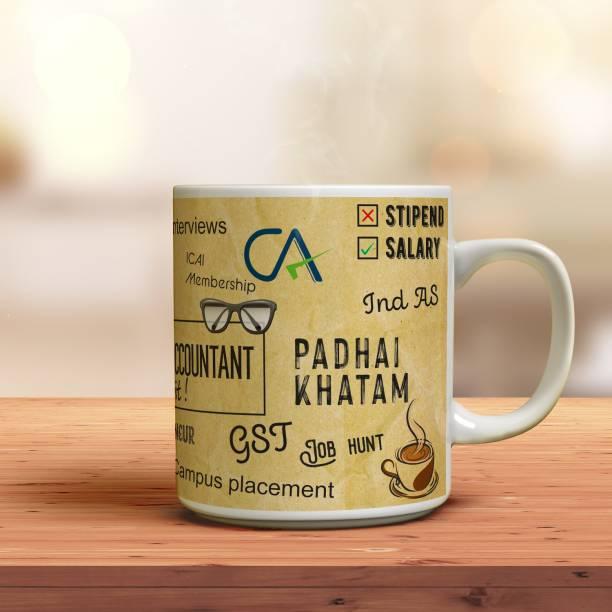 Shree Rani Sati Digital 'Chartered Accountant CA' Printed Ceramic Coffee Mug