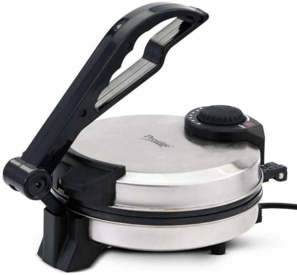 Prestige Premium Roti Maker with Shock Proof Body & Adjustable Temperature Knob Roti and Khakra Maker