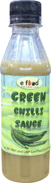 E Food Factory Green Chilli Sauce 200 g Sauces