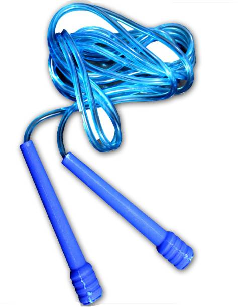 LYCAN skipping rope # blue # length 275 cm Ball Bearing Skipping Rope