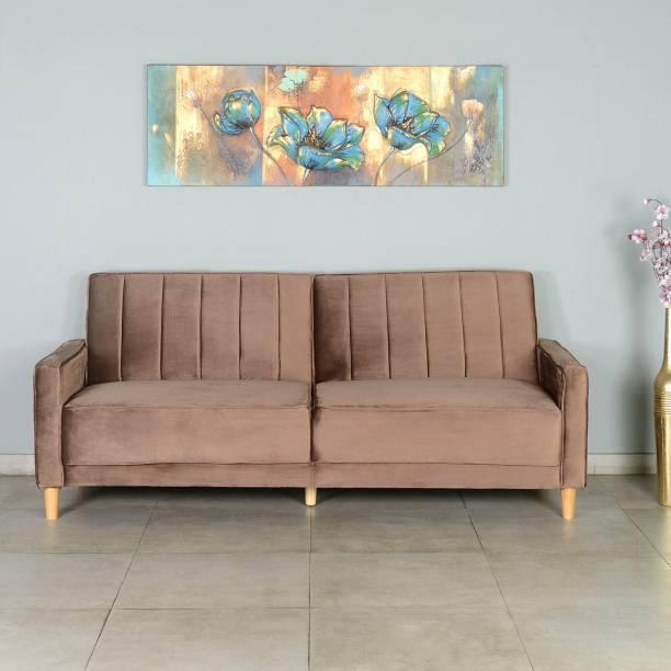 Nilkamal Xavi Double Solid Wood Sofa Bed