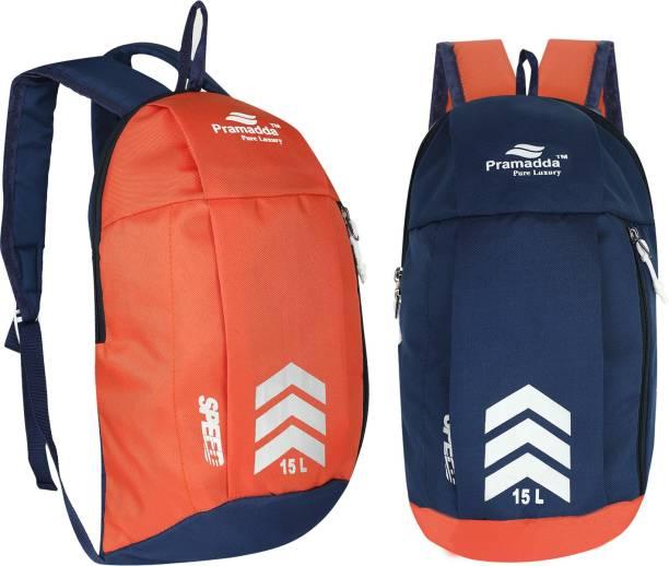 Pramadda Pure Luxury Sports Casual gym football Multipurpose Kit Bag 15 L Backpack (Combo Pack)