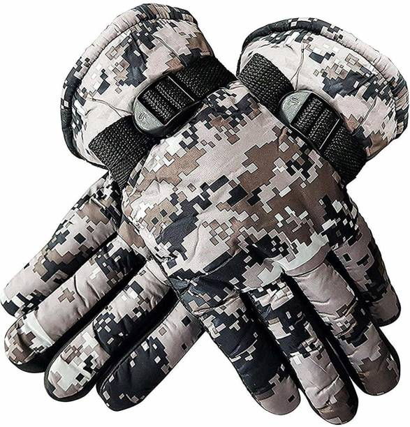 AANU Winter Military Gloves For Men And Boys Driving Gloves