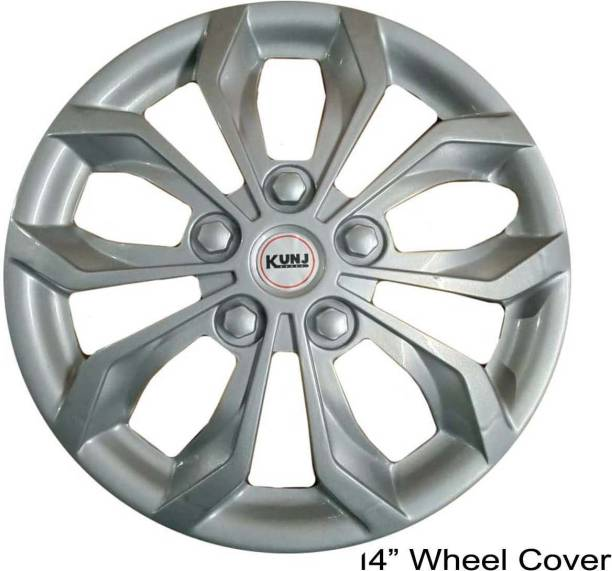 Kunj Autotech 14 Inch Universal Wheel Cover For Universal For Car Universal For Car