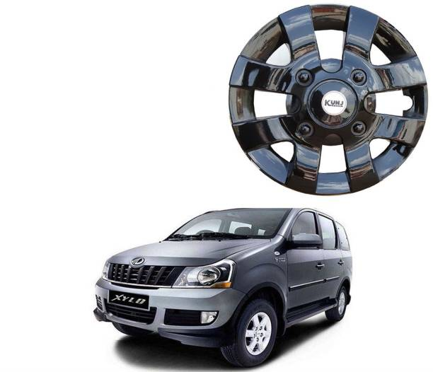 Kunj Autotech Old Black 15 Inch Wheel Cover For Mahindra Xylo