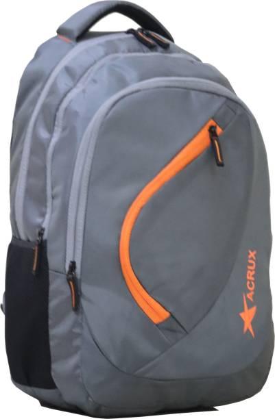 Acrux Troy GreyOrange Waterproof School Bag