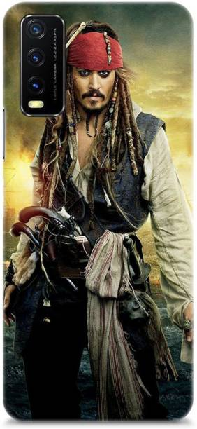 Roochyam Back Cover for Vivo Y20, Vivo Y20i, Vivo Y20s (Captain Jack Sparrow)