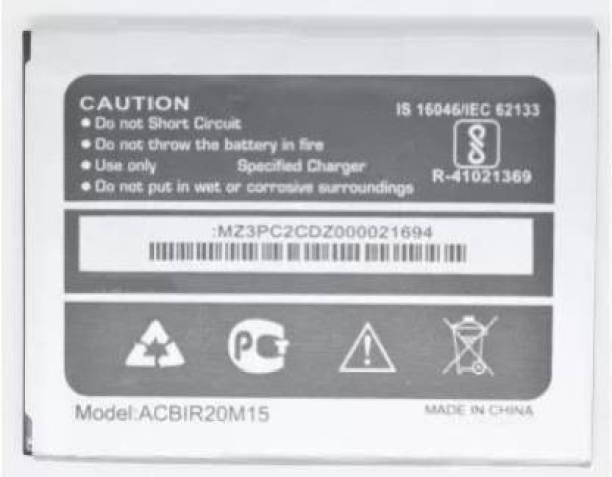 BKN Mobile Battery For  MICROMAX BHARAT 4 MOBILE BATTERY Q4002 (ACBIR20M15)