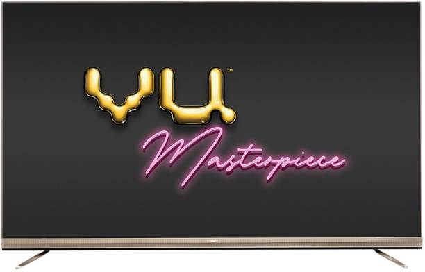 Vu Masterpiece 215 cm (85 inch) QLED Ultra HD (4K) Smart Android TV