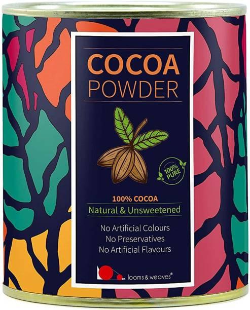 looms & weaves 100 % Pure & Natural Cocoa Powder From Kerala - 250 Gm Cocoa Powder