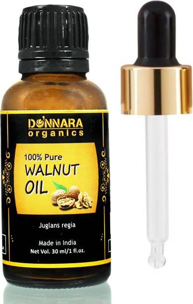 Donnara Organics 100% Pure Walnut oil- Natural & Undiluted(30 ml)