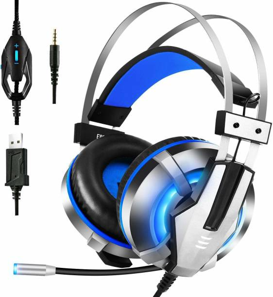 EKSA E800 (Blue) Wired Gaming Headset