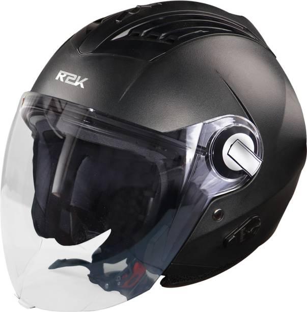 Steelbird SBA-3 R2K Classic Helmet in Black Motorbike Helmet