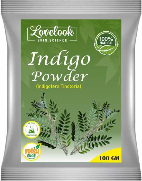 Lovelook 100% Pure Indigo Powder