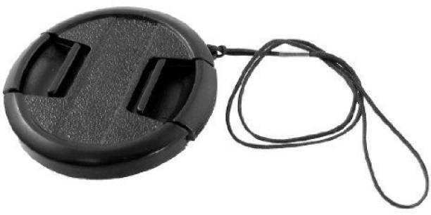 Hanumex Digital Camera 52mm Center Pinch Front Lens Cap Black  Lens Cap