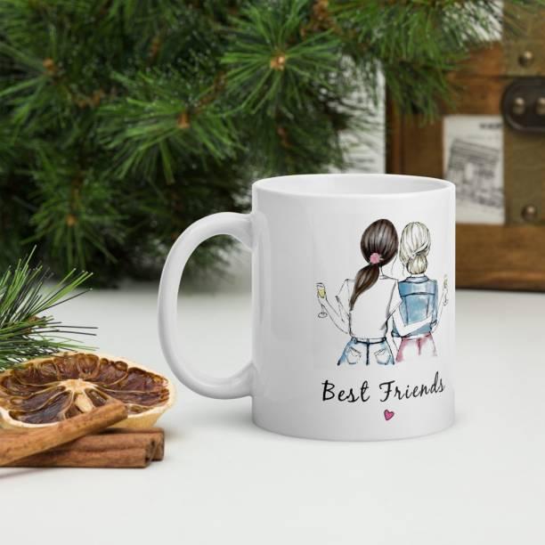 SkyAsia Happy Birthday gift for best friend, gift for best girl friend girls Ceramic Coffee Mug