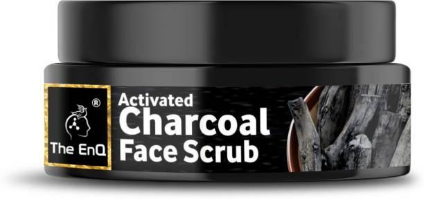 THE ENQ Charcoal Face  Scrub