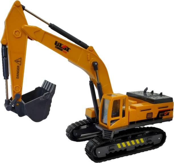 Shopoflux Excavator Construction Engineering Toy Vehicle for Kids