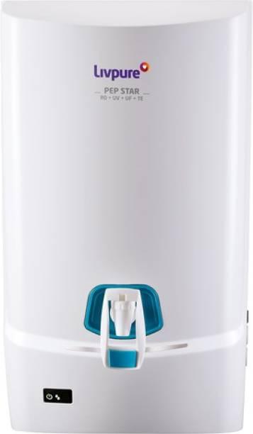 LIVPURE Pep Stars Ro Water Purifiers 7 L RO + UV + UF + TDS Water Purifier