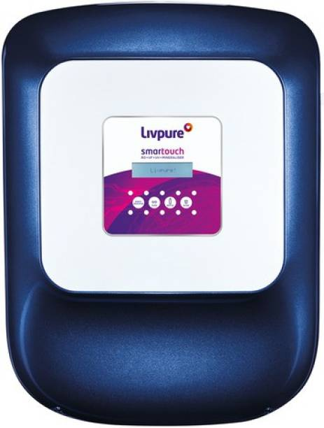 LIVPURE Smart Touch 8.5 L RO + UV + UF + Minerals Water Purifier