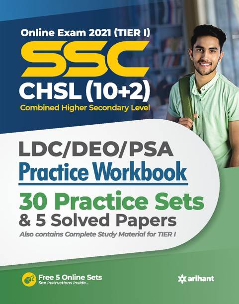 Ssc Chsl (10+2) Tier I Practice Workbook 2021