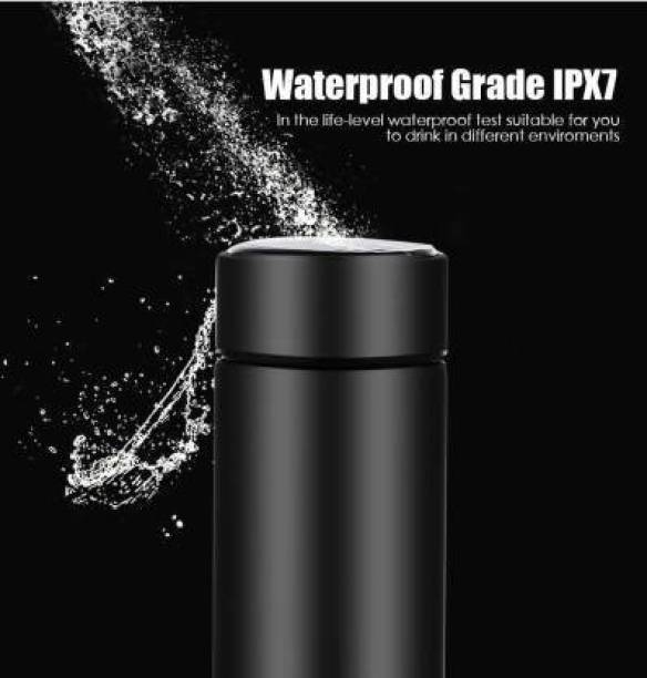 MAHI ENTERPRISE Stainless Steel Water Bottle LED Temperature Display Hot & Cold 450 ml Flask