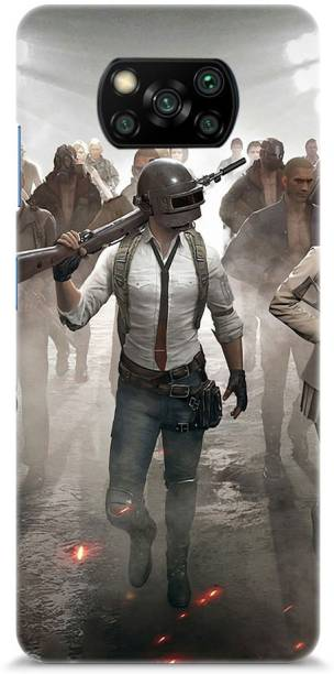 Roochyam Back Cover for Xiaomi Poco X3 (Pubg)