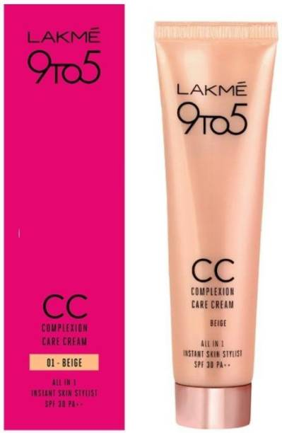 Lakmé 9 to 5 Complexion Care Face Cream - Beige Foundation