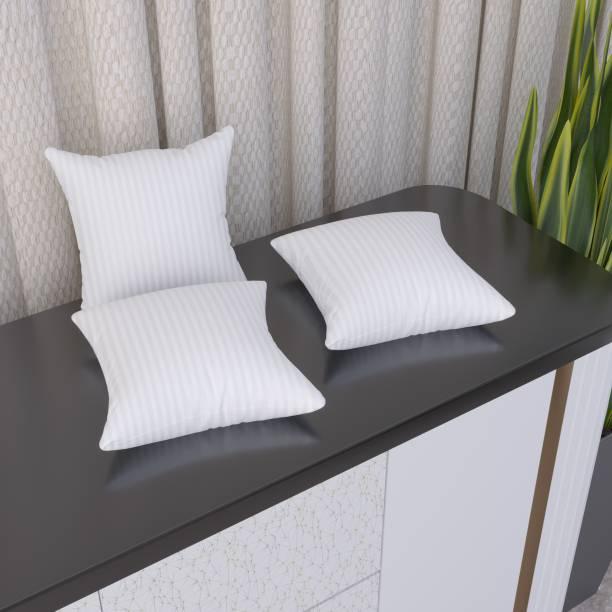 Flipkart SmartBuy Microfibre Stripes Cushion Pack of 3