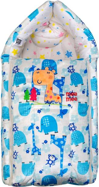 MeeMee Baby Cozy Carry Nest Bag (Baby Sleeping Bag) (Blue) Sleeping Bag