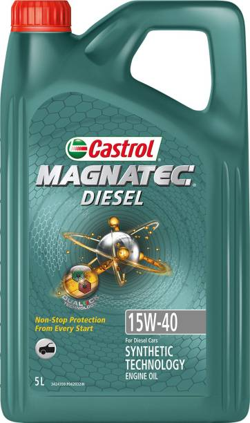 Castrol Magnatec Diesel 15W-40 API SN Part Synthetic Synthetic Blend Engine Oil