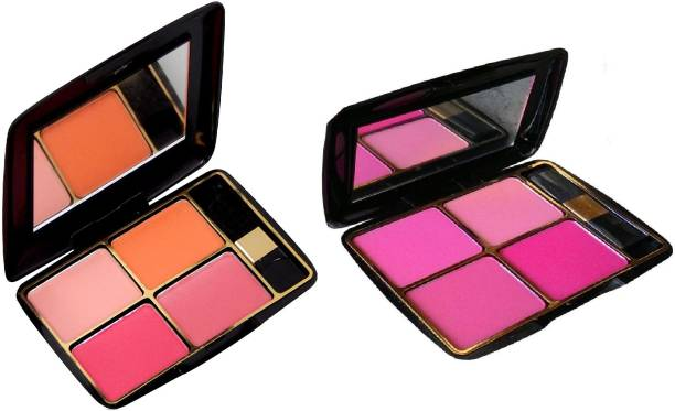 MY TYA Fashion Makeup Kit Blusher Palette Pack of 2