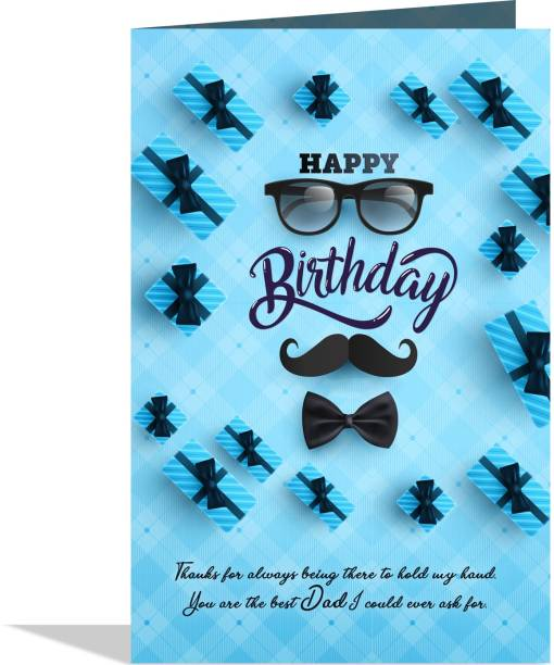 GIFT MY PASSION Happy birthday you are the best dad Greeting Card Greeting Card