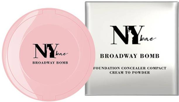 Ny Bae 3 in 1 Foundation Concealer and Compact Cake Cream to Powder Texture Broadway Bomb Range Compact