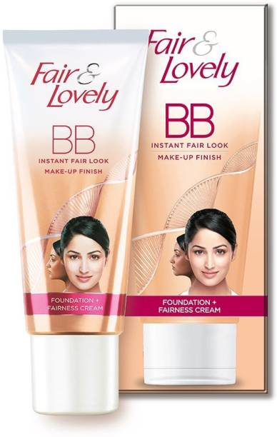 Fair & Lovely BB Foundation + Fairness Cream 40g Pack of 3