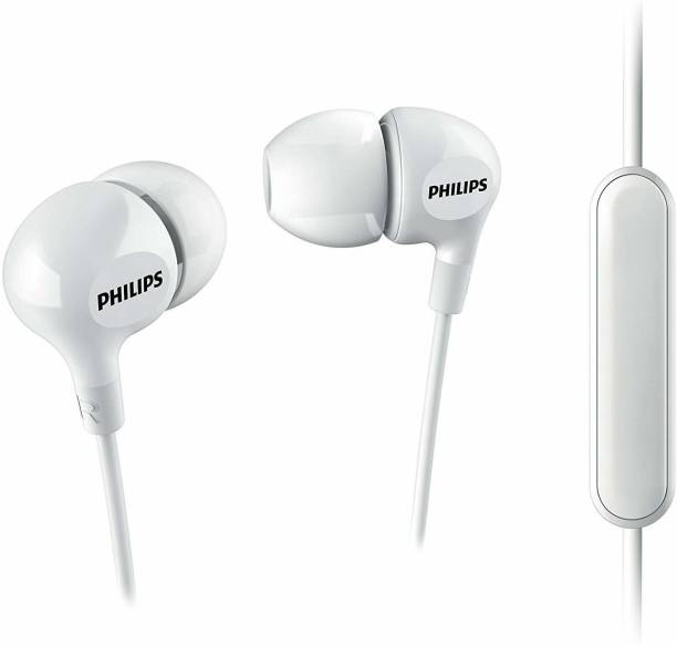 PHILIPS 100% Original SHE3555WT Wired Headset
