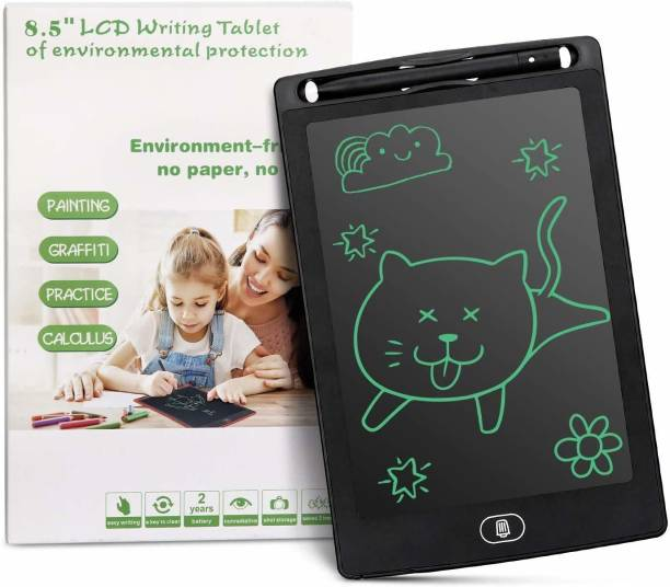 Jakha 8.5 Inch Doodle Board Writing Tablet Pad Reusable Portable Ewriter Educational Toy for Kids, Student, Teacher at Home, School and Office